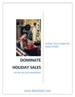 Dominate Holiday Sales