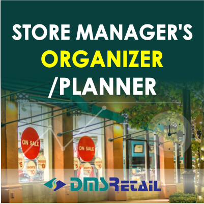 Store Manager's Organizer - Planner